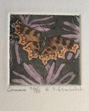 E.S. Elmhirst.   Comma Butterfly, No 25 / 50 copies original print.