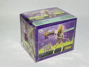 Panini Disney Hannah Montana True Star Stickers  New Sealed Trade Box 50 Packets