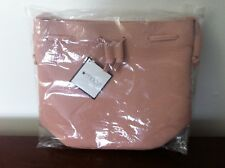 Macys Tote Pink Bag Faux Leather New Style Cute Shoulder Bag New With Tag