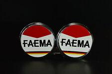 Faema Handlebar End Plugs Bar Caps lenkerstopfen bouchons flat vintage style 2