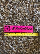 Metolius Rectangle Rock Climbing Bolt Hanger Sticker Decal Pink New Approx 5�