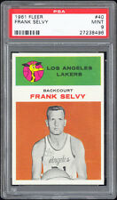 1961-62 Fleer #40 Frank Selvy (Los Angeles Lakers) PSA 9 MINT