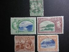 Trinidad and Tobago 5 Ols Stamps,used,mh
