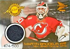 2000-01 McDonald's Game Jersey #7 Martin Brodeur New Jersey Devils /500
