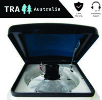 TRA 12V ELECTRIC RAIN SENSING + REMOTE CARAVAN RV ROOF HATCH VENT JAYCO PARTS