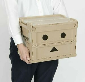 20L TRUSCO Danboard Folding Container Case Storage Box Made In Japan