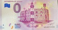 BILLET 0  EURO  AQUARIUM DE LA ROCHELLE  FRANCE  2018  NUMERO 10000 DERNIER