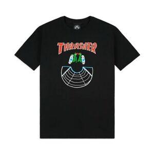 THRASHER DOUBLES T-SHIRT(MEDIUM)