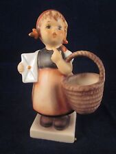 HUMMEL #13 Meditation ~ Girl carrying Basket ~ TMK5 ~ W Germany ~ Vintage ~ EXC