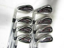 Titleist 716 AP1 4-GW Iron Set - XP 90 R300 Regular Flex Steel Shafts Used LH**