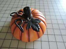 Longaberger Pottery Pumpkin Basket Topper