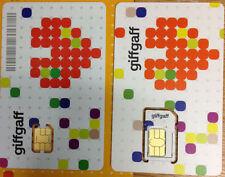 100 Giffgaff NANO/Micro/Standard SIM card  gifgaf sims gif gaf PAYG