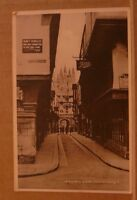 Postcard unposted Kent, Mercery lane Canterbury