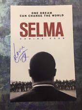 GFA Selma Movie Poster COMMON Signed Autographed 12x18 Photo COA