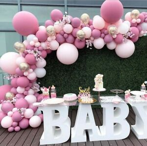 Balloon Garland Arch Kit Wedding Baby Shower Balloons DIY Party Decorations Pink