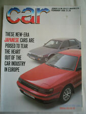 Car Feb 1986 Metro 6R4, Piazza Turbo vs Celica GT vs Prelude 2.0i-16