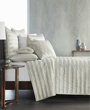 Hotel Collection Full/Queen Coverlet Gilded Geo Embroidered Quilted E96189