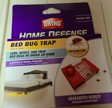 (1) 2 Pack Ortho Home Defense Bed Bug Trap With Lure FREE SHIPPING!!