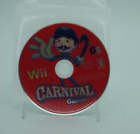 CARNIVAL GAMES Nintendo Wii Game Disc Only Tested Free Shipping