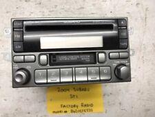 04 SUBARU IMPREZA WRX STI OEM STEREO RADIO 6 DISC CD PLAYER W/ CASSETTE!