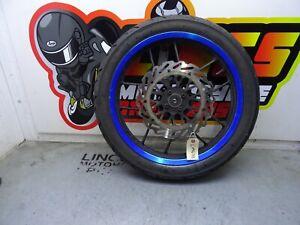 Lexmoto ZSX-R 125 Front Wheel, Tyre & Brake Disc LM672