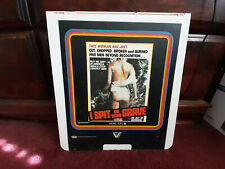 I Spit on Your Grave Wizard CED VideoDisc Camille Keaton