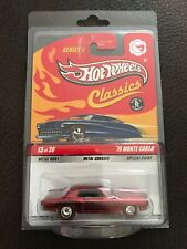 Hot Wheels Classics Series 5 '70 MONTE CARLO Chase RED #13 of 30 REAL RIDERS