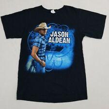 "Jason Aldean Women's T-Shirt size small ""My Kinda Party"" 2011 Tour Euc Ss Pz"