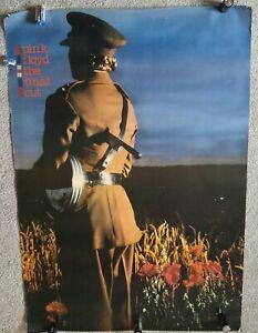 Pink Floyd The Final Cut 1983 original Promo Poster Large 4 foot tall!