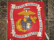 LOTE 12 ( 1 dozen ) 55.9cmx55.9cm Rojo USMC Marine Ejército Marina EGA BANDANA
