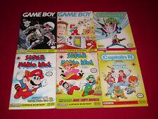 Vtg Lot Nintendo Comics System Super Mario Bros & Game Boy Captain N #1 Valiant