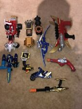 Mixed Lot Vintage 90s Mighty Morphin Power Rangers Figures/ accessories MMPR