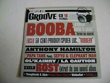 Groove Magazine CD Sampler  #99 - Booba, 50 Cent, Prodigy, Spider Loc...