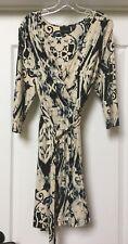 Cynthia Rowley rayon Blend Faux Wrap Dress,  Size XL   NWOT