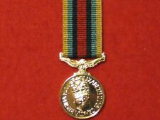 Miniature OSM AFGHANISTAN MEDAL AFGHAN MEDAL WITHOUT Clasp in Mint Condition