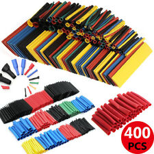 400Pc Car Electrical Cable Heat Shrink Tube Assorted Tubing Wire Wrap Kit MK8C