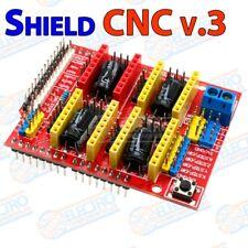 CNC Shield v3 Expansion Board comparible con Arduino UNO DRV8825 A4988 cortadora