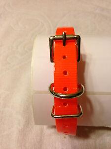 "Dogtra  Innotek Tri Tronics Compatible 3/4"" Hi Flex Roller Buckle Straps"