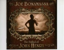 CD JOE BONAMASSA	the ballad of john henry	US 2009 EX (A4103)