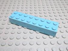 Lego 1 Basic Stein 2x8 hoch maerskblau 3007 Set 10152 10155 10152