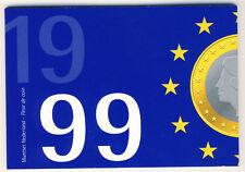 NIEDERLANDE Kursmünzensatz 1999 - Stempelglanz - ANSEHEN