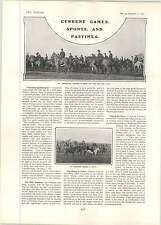 1902 Hms Triton Surveying Steamer Belvoir Hunt Sproxton Thorns