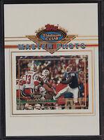 1993 Topps Stadium Club 5x7 Master Photo Bruce Smith Buffalo Bills