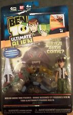 Ben 10 Ben and Vilgax 2 pack figures ultimate alien omnitrix Ben Ten NEW