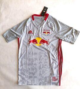 New York Red Bulls 2019/20 Adidas Home Kit Youth XL Jersey MLS Shirt NEW