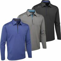 Stuburt Golf 2019 Sport Long Sleeve Thermal Top Windproof Insulation Golf Polo