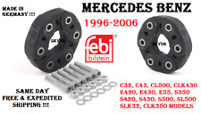 96-06 Mercedes W140 W202 W210 C215 R129 Drive Shaft Flex Joint Disc KIT FEBI