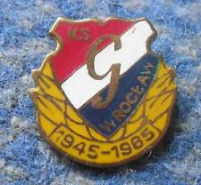GWARDIA WROCLAW 40 ANNIVERSARY/1945-1985/ POLAND VOLLEYBALL BASKETBALL GOLD PIN