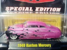 M2 Machines 1/64 1949 49 Merc Mercury Pink Pearl Flames SE Toy Con Chase 1/492