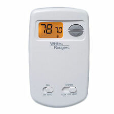 White Rodgers 1E78-144 70 Series Thermostat, Single Stage, Non-Programmable, .
